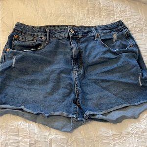 Target/Levi's Jean shorts.